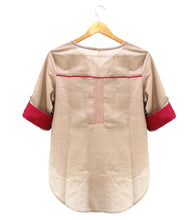 Beige South Cotton Shirt