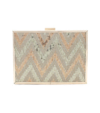 Multicoloured Brocade Clutch