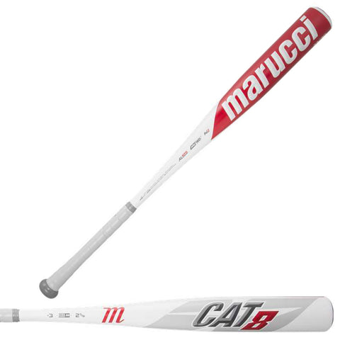 Marucci 2019 CAT8 (-3) BBCOR Baseball Bat - MCBC8