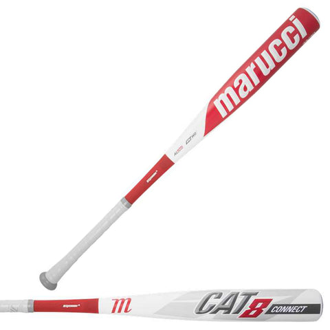 Marucci 2019 CAT8 Connect (-3) BBCOR Baseball Bat - MCBCC8