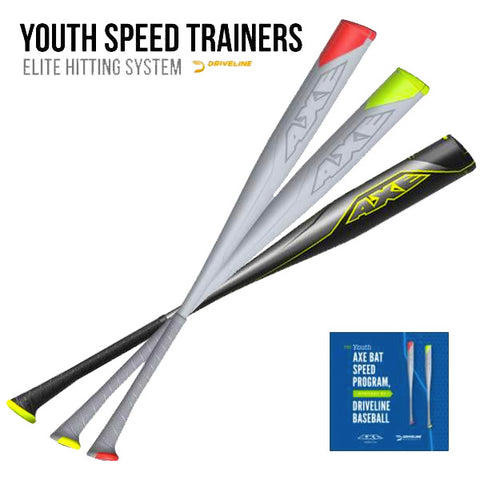 Axe Bat Youth Speed Trainers Bundle with L161F USSSA Baseball Bat