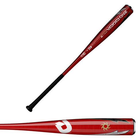 DeMarini 2019 VooDoo One Balanced (-3) BBCOR Baseball Bat - WTDXVOC-19