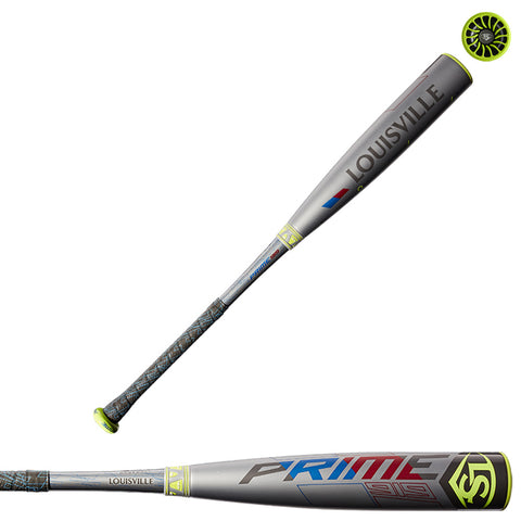 "Louisville Slugger 2019 PRIME 919 (-10) 2 5/8"" USA Baseball Bat - WTLUBP919B10 - Discontinued"