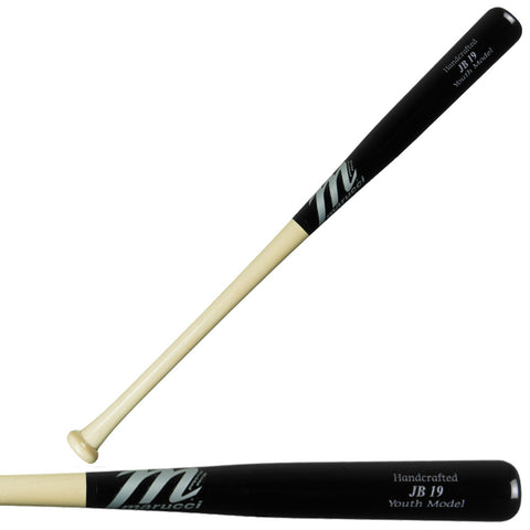 Marucci JB19 Youth Pro Model Wood Maple Baseball Bat - JB19-YB-NB