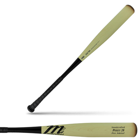 Marucci Posey 28 Pro Metal (-3) BBCOR Baseball Bat - MCBP28 - Discontinued