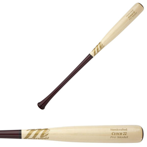 Marucci CUTCH22 Pro Model Wood Maple Baseball Bat - MVEICUTCH22-CH/N