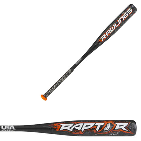 "Rawlings 2018 Raptor USA (-10) 2 1/4"" Baseball Bat - US8R10 - Discontinued"
