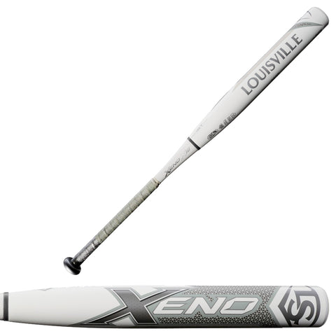 Louisville Slugger 2018 Limited Edition Platinum XENO X18 (-10) Fastpitch Softball Bat - Discontinued