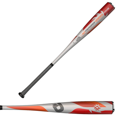 "DeMarini 2018 VooDoo One (-10) 2 5/8"" USA Baseball Bat - WTDXUO2-18 - Discontinued"