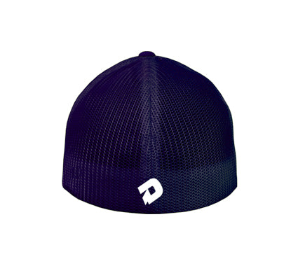 DeMarini Stacked D Hybrid Flexfit Baseball Hat - USA
