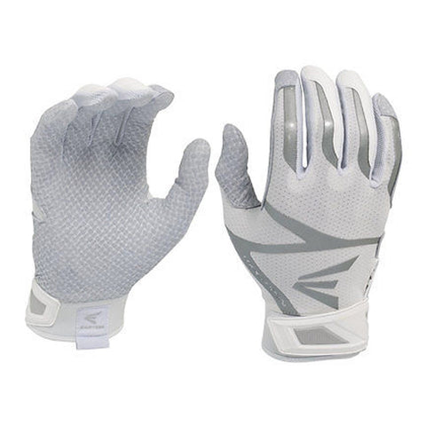 Easton Z10 Hyperskin Whiteout Batting Gloves - Discontinued