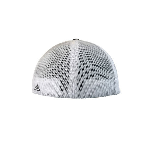 DeMarini D Flexfit Hat - Heathered Grey/USA