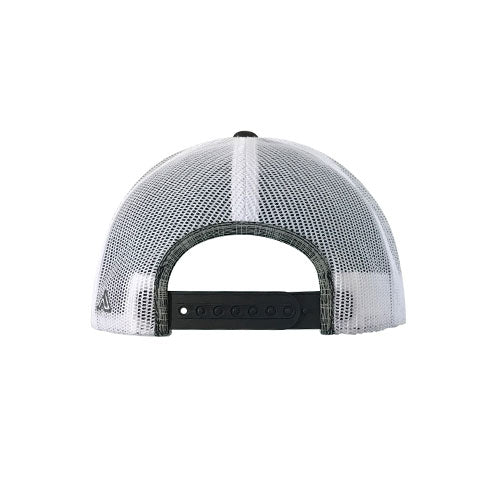 DeMarini Snapback Hat - Black Grey Plaid/Neon