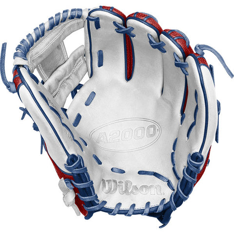 "Wilson A2000 1786 11.5"" Patriot Baseball Glove"