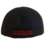 DeMarini D Flexfit Flat Bill Hat - Black/Red