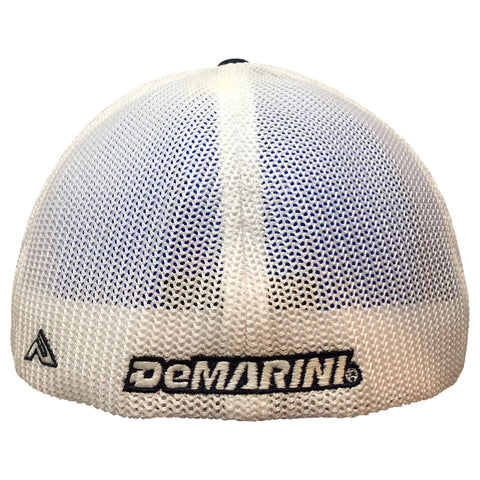 DeMarini D Flexfit Hat - Heathered Grey/Black D