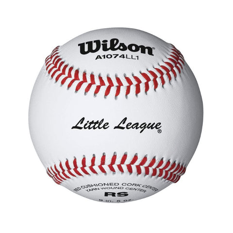 Wilson Little League Baseballs - 1 Dozen)