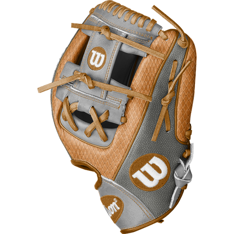 "Wilson A2000 99BATS.com Exclusive Custom 11.5"" 1786 Infield Baseball Glove - WTA20RB21TAN"