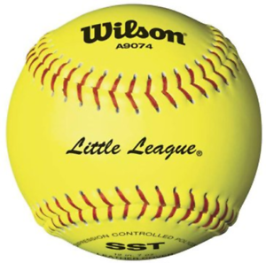 "1 Dozen - Wilson 11"" Little League Softballs - SST"