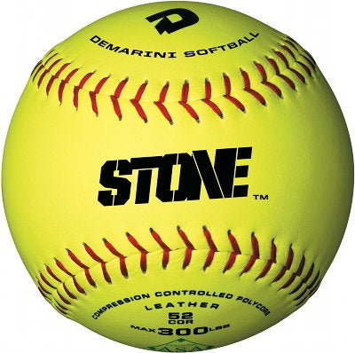 "1 Dozen - DeMarini 12"" STONE Synthetic Slowpitch Softball"