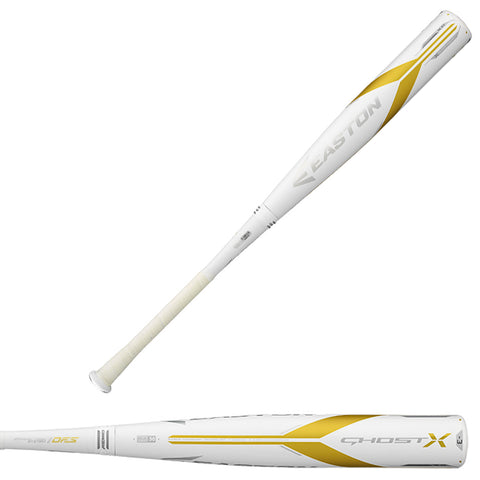 Easton 2018 Ghost X BBCOR (-3) Baseball Bat - BB18GX