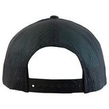 DeMarini Snapback Hat (Stacked D) - Black/HeatheredGrey