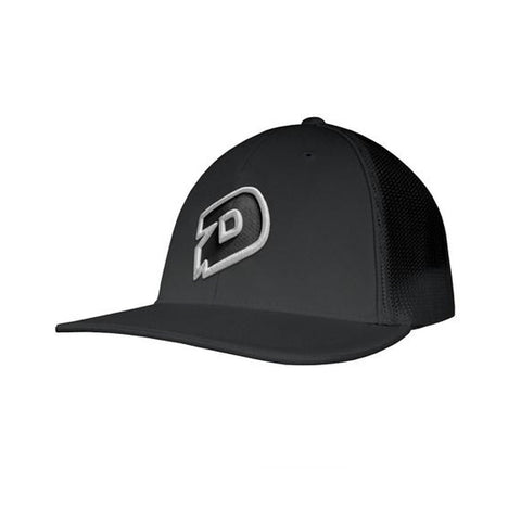 DeMarini D Flexfit Hat - Charcoal