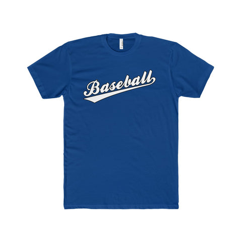 Baseball Signature Men's Cotton Crew Tee