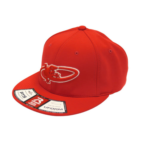 Lizard Skin FlexFit Hat - Red