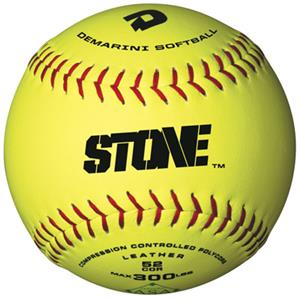 Single - DeMarini STONE Synthetic Slowpitch Softball
