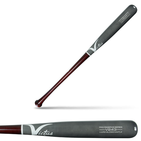 Victus V243 Pro Reserve Maple Wood Baseball Bat - VRWMV243-DCH/GY - Discontinued