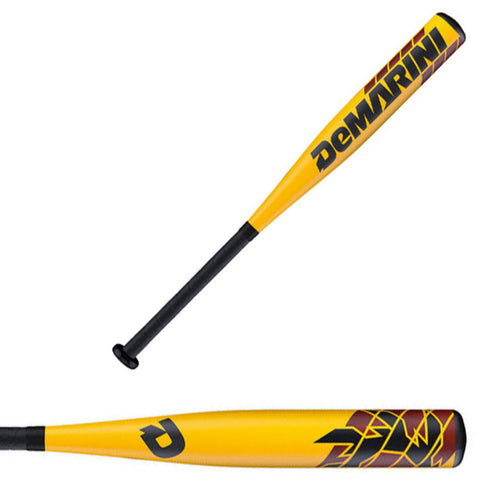 DeMarini 2016 VooDoo Raw Senior League (-10) Baseball Bat - WTDXVDX-16