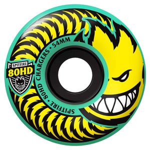 SPITFIRE 80HD CHARGER TEAL 58MM