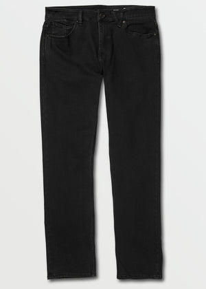 Volcom Solver Denim - Blackout | Pavement