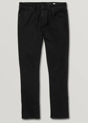 Volcom 2x4 Tapered Jean - Blackout | Pavement