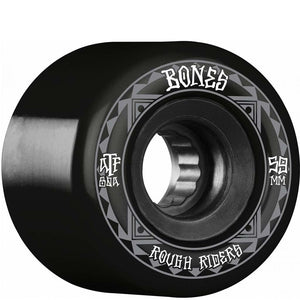 Bones ATF Rough Rider Runners 59mm Wheels - Black | Pavement
