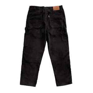 Vic Cord Carpenter Pant - Black | Pavement