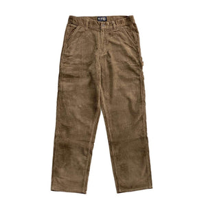 VIC CORD CARPENTER PANT - BROWN