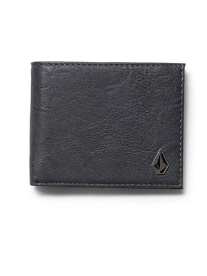 VOLCOM SLIM STONE WALLET - PUTTY