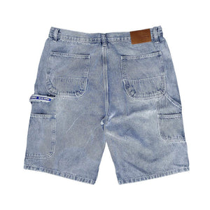 VIC CARPENTER DENIM SHORTS - BLUE