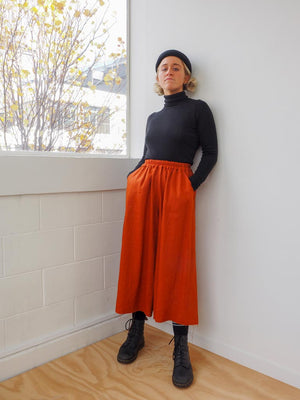 PAVEMENT BALLOON PANT - PAPRIKA