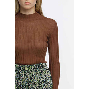 Thing Thing Turtle Neck - Taupe | Pavement