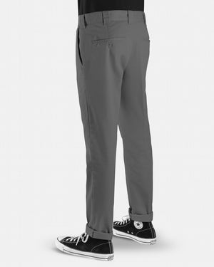DICKIES 872 SLIM TAPERED FIT PANT - CHARCOAL