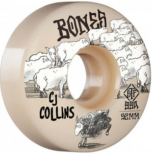 Bones STF Collins Black Sheep V3 Slims 99a 52mm Wheels | Pavement