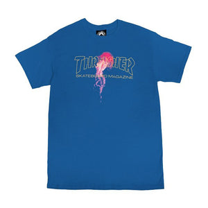 Thrasher Atlantic Drift Short Sleeve Tee - Royal | Pavement