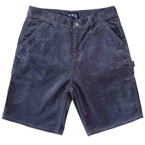 Vic Cord Carpenter Shorts - Slate | Pavement