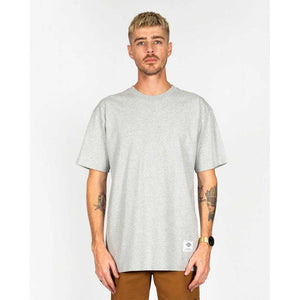 Dickies H.S Inez Classic Fit Heavyweight Tee - Grey Marle | Pavement