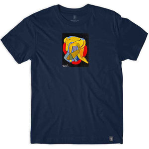 Girl Tangled Tee - Navy | Pavement