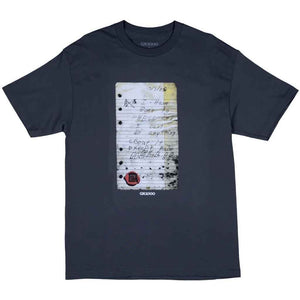 GX1000 Raise Tee - Charcoal | Pavement
