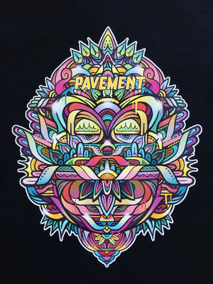 PAVEMENT X SEAN DUFFELL CREW - BLACK/MULTI